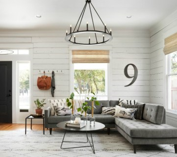 Get This Look Fixer Upper Living Room The Americana House Feature