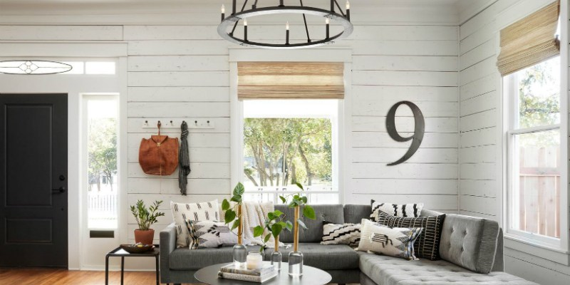 Get This Look: Fixer Upper Living Room from The Americana House