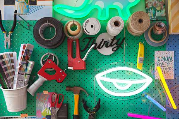Remodelaholic Color Files Jade Green Pegboard 2