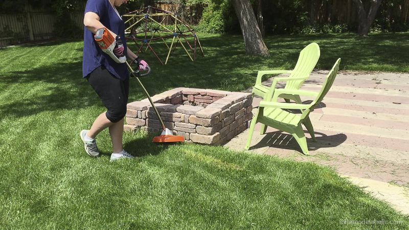 Tips For Trimming And Edging Your Lawn Like A Pro With Stihl @Remodelaholic 23