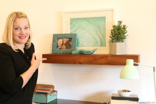 Diy Floating Shelf Building Tutorial #remodelaholic