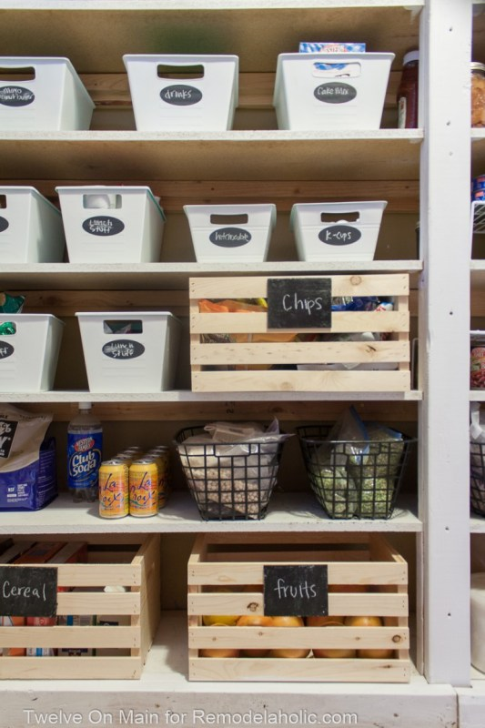 How To Organize Large Pantry On Budget 8 Of 9
