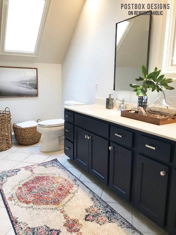 Postbox Designs: My $950 Budget Bathroom