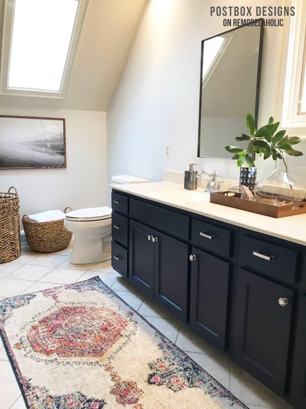 Help Me Design My Bathroom | Remodelaholic 950 Budget Bathroom Makeover How I Updated My