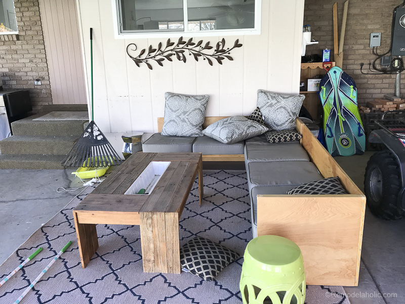 Painting A Patio With UGL Epoxy Floor Paint @Remodelaholic 12