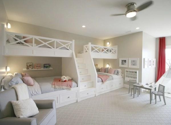 Remodelaholic Bunk Room