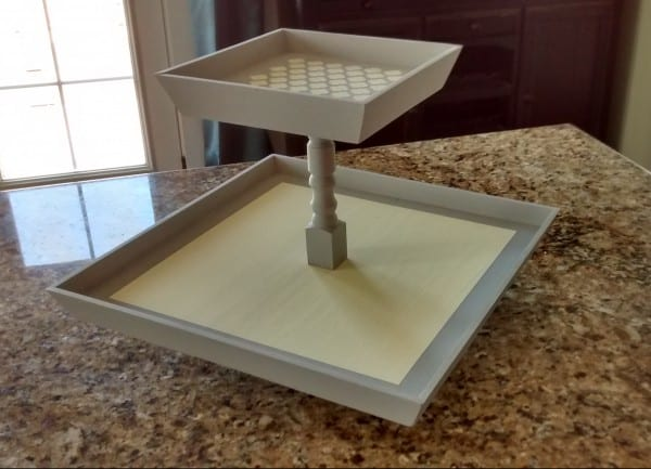 Remodelaholic Two Tier Lazy Susan (124)