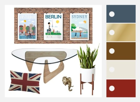 Travel Themed Decor Inspiration