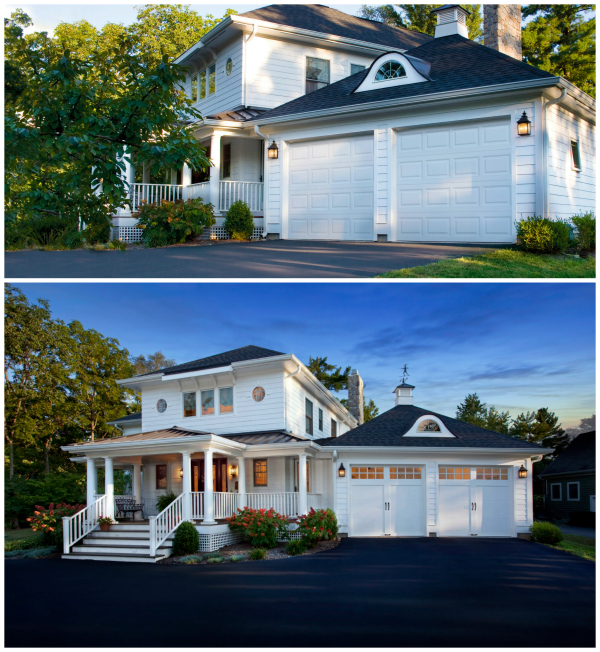 Before And After Garage Remodels: The #1 Curb Appeal Update To Add Value To