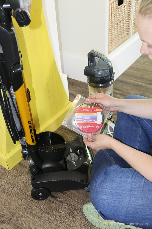 Vacuum Filters With Filtrete @Remodelaholic 17