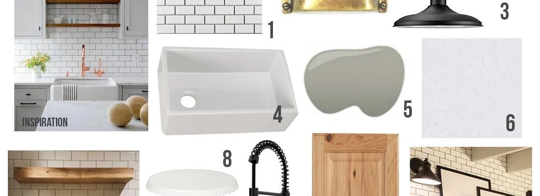 How to Design a Budget Kitchen + Island, Farmhouse Style