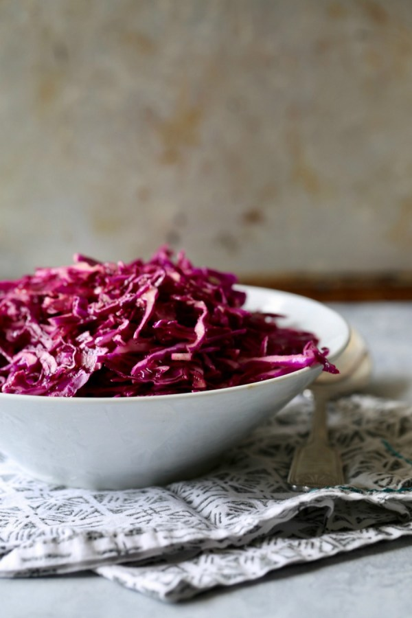 Remodelaholic Recipe Red Cabbage Slaw 5