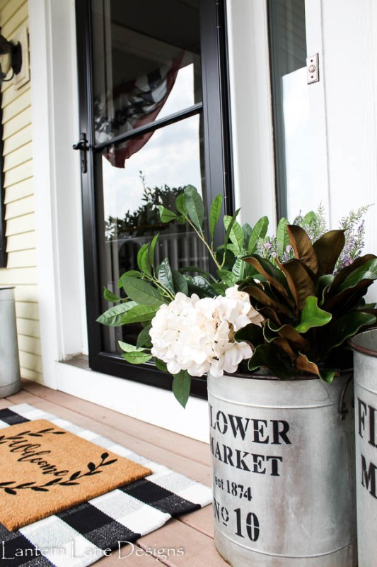 Outdoor Decor Ideas Decorating With Faux Flowers