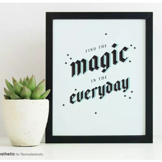 Free Printable Find The Magic In The Everyday