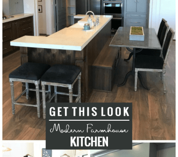 How To Decorate A Kitchen In Modern Farmhouse Style, From Remodelaholic
