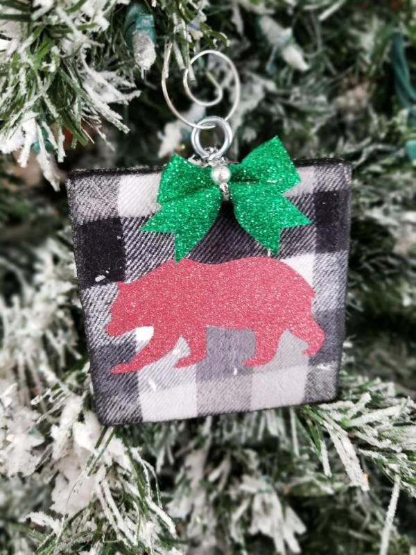 Amy P Leap Of Faith Crafting Buffalo Plaid Ornaments Diy 9 (1)