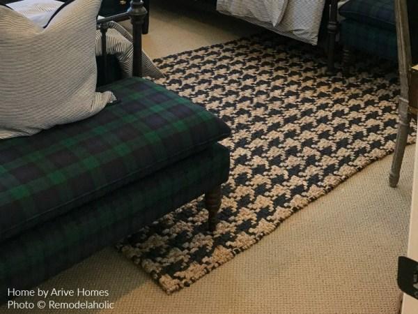Herringbone Woven Rug In Boys Modern Farmhouse Bedroom, Arive Homes And Brandalyn Dennis Design, 2018 Utah Valley Parade Of Homes, Featured On Remodelaholic