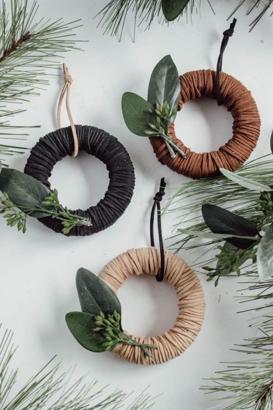 Lindi Love Create Celebrate DIY Mini Wreath Ornaments 4