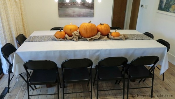 Hack A Bigger Dining Table For Thanksgiving Under 50 @Remodelaholic 10 (1)