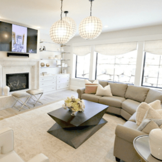 Home Tour Inviting Transitional Style With A Modern Touch