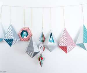 Diy Printable Paper Ornaments To Fold And Decorate For Christmas And Winter Remodelaholic 7 768x510