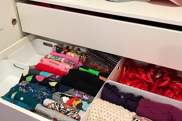 IKEA PAX: Built-In Wardrobe Closet in a Shared Girls' Room