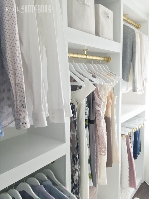 Remodelaholic | DIY Custom Walk-in Closet Organizer for a ...