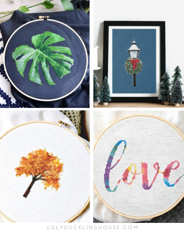 Cross Stitch Patterns By Ugly Duckling House