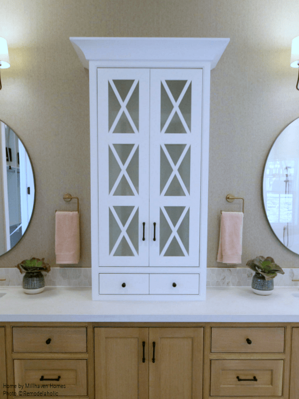 Remodelaholic Get This Look Two Tone Modern Farmhouse
