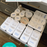 Organize Drawers As A Pantry Alternative For A Small Kitchen, Plus Best Affordable Food Storage Containers #remodelaholic