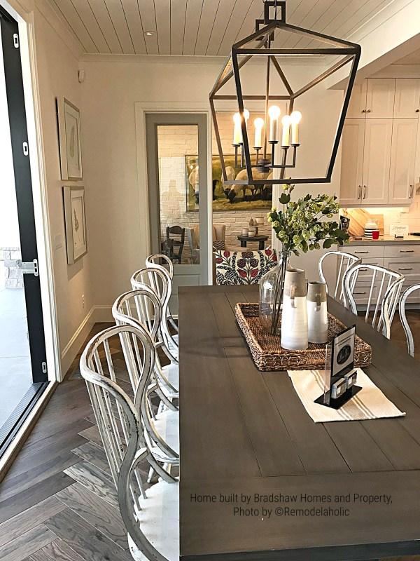 Classic Farmhouse Dining Room Bradshaw Homes & Property (95)