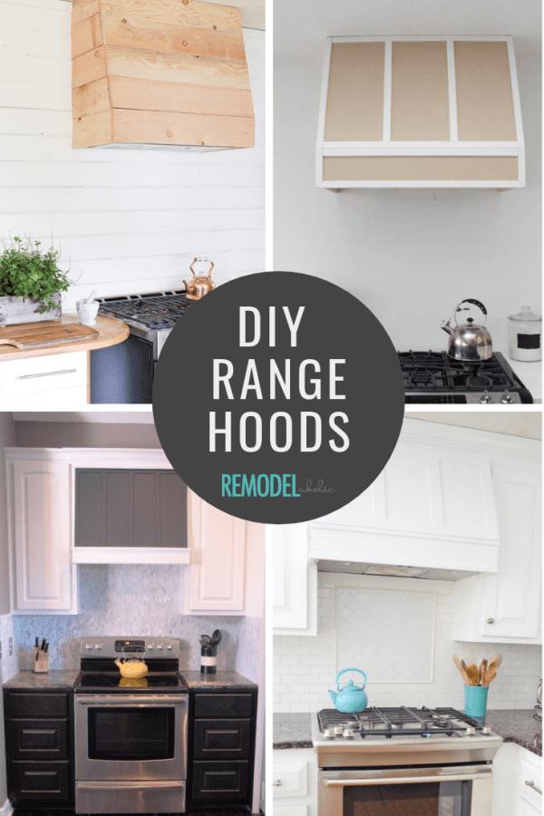 DIY Range Hood Roundup