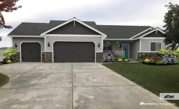 Real Life Rooms Garage Door Curb Appeal Dilemma