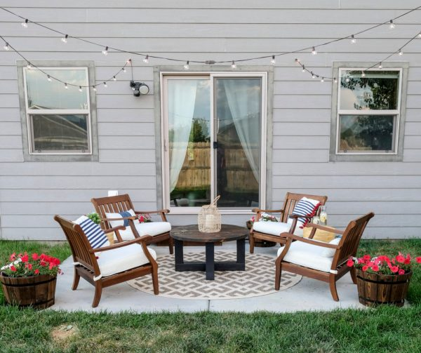 Small Patio Makeover Joyfully Growing Blog