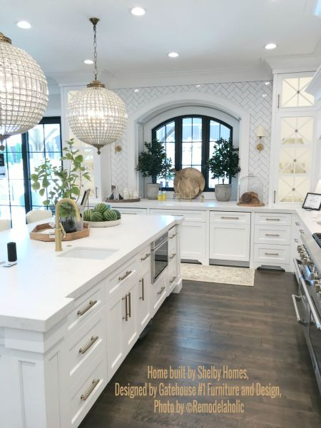 White Glam Kitchen Shelby Homes, Gatehouse No. 1 Furniture & Design (448).ed