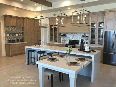 Transitional Kitchen by E Builders and Erin Hansen Design