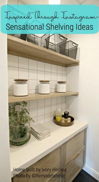Ivory Homes Laundry Shelving