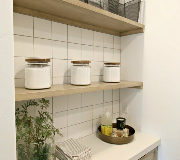 Ivory Homes Laundry Shelving