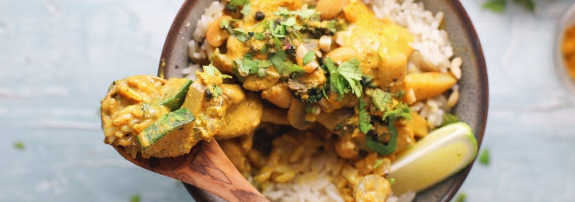 Vegetarian Curry in 20 minutes