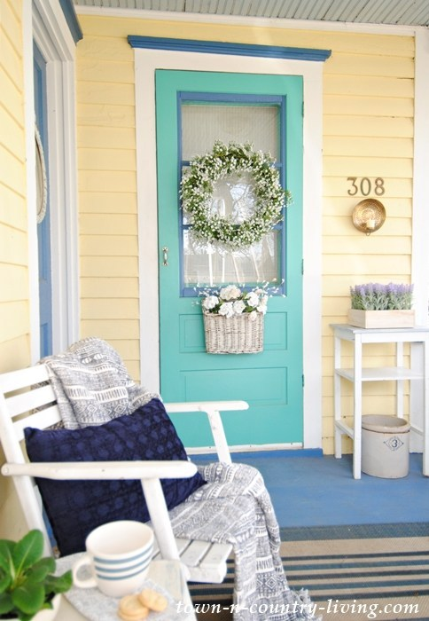 23 Fresh Spring Porch Inspirations