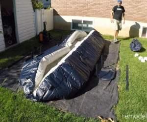 Inflatable Pool Setup And Maintenance Tips #remodelaholic