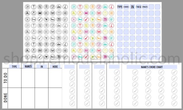 Chore Chart Preview