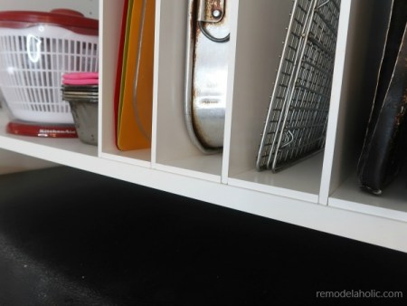 Diy Over The Fridge Cabinet Organizer, Ikea Kitchen Cabinet Hack #remodelaholic