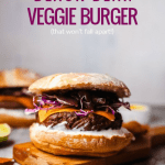 Freezer Friendly Black Bean Veggie Burger Recipe And Tips #remodelaholic
