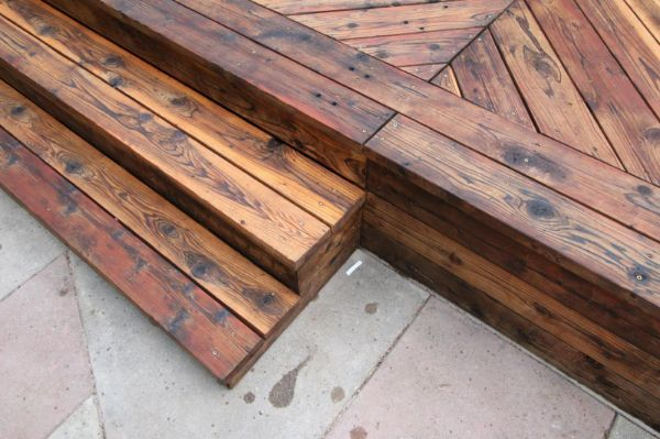 Restore Refinish Redwood Deck With Oil 010