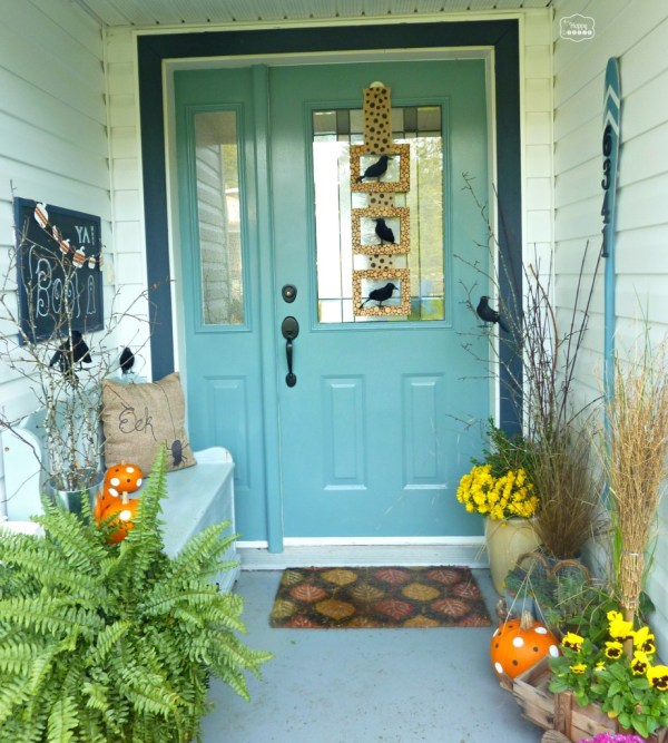 Halloween Front Porch At Thehappyhousie 921x1024
