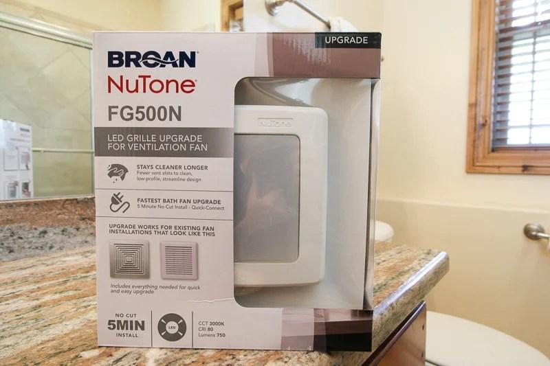 Broan FG500N LED upgrade for ventilation fan