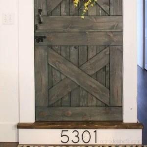 Barn Door Baby Gate