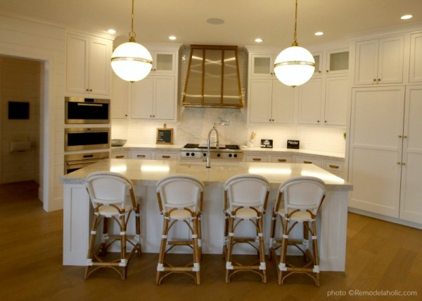Modern Farmhouse Kitchen Ideas And Inspiration For Lighting And Hardware Finishes, Remodelaholic
