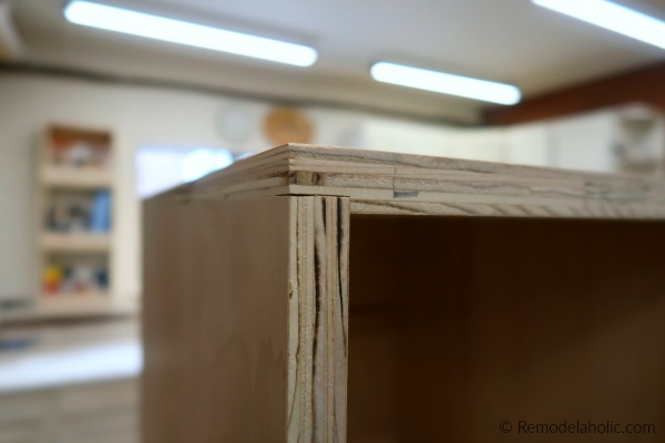 How To Make Diy Cubby Storage Using Plywood And Rabbet Joints, Remodelaholic